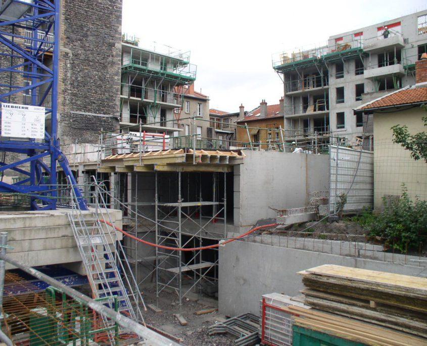 Immeuble de 70 logements - Clermont Ferrand